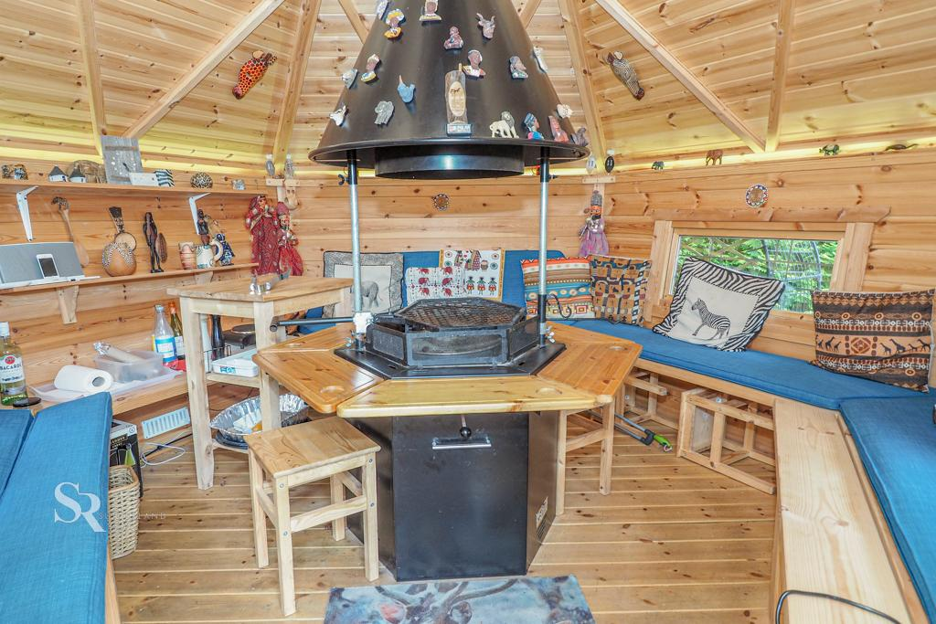 Bespoke Wooden Barbecue Hut